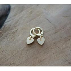 Mini créoles Coeur
