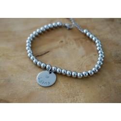 bracelet médaillon