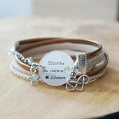 ⭐ Nounou ⭐  des idées cadeaux à personnaliser pour un cadeau unique : bracelet, marque page, porte clé ...  retrouver la collection sur la boutique : https://www.dansmonatelier.fr/fr/86-nounou  🌸 délais de création : 3 jours 🌸 envoi par la poste en lettre suivie ou colissimo 🌸 les bijoux sont livrés avec une pochette cadeau  #faitmain #nounou #personnalisé #madeinfrance