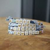 🌸 Coucou de l'atelier   Ces modèles sont à retrouver sur la boutique : https://www.dansmonatelier.fr/fr/  Les bracelets sont disponible en taille bébé, enfant et adulte 😍  🌼 création sous 2/3 jours 🌼 envoi en suivi avec la poste  #dansmonatelier #faitmain #bracelet #accumulation #liberty #collectionenfant