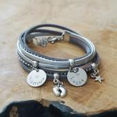 Nouveauté du jour 🥰 vous pouvez personnaliser ce bracelet lors de votre commande   Des idées cadeaux pour  Marraine, Mamie, Tata, Maman ... à retrouver sur la boutique en ligne :  www.dansmonatelier.fr  délai de création : 3 jours envoi en suivi avec la poste   #dansmonatelier #faitmain #bracelet #cuir #braceletgravé #bijougravé #marraine #maman #mamie #tata #handmade #madeinfrance