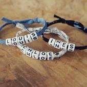 Coup de coeur du moment ❤ les bracelets prenoms réglable disponible en version fille et garçon. Voici la version tissu etoile, il y a également des tissus liberty fleuri. Lors de votre achat vous choisissez la couleur du tissu et la taille pour le bracelet ( bébé, enfant ou adulte)  Il y a une collection avec perles argentées et dorées sur la boutique 😍 ●•●•●•●•● #dansmonatelier #bracelet #braceletpreenom #prenombebe #bebe #enfant #collectionenfant #kidcollection #kidname #name #myboy #mygirl #mafille #monfils #etoile #instabijou #braceletmaman #bijouenfant #bijoumaman #merefille #merefils #motherdaughter #motherson #faitmain #madeinfrance